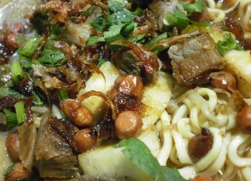 Resep makanan sehat: sop ubi makassar