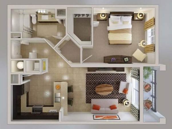 Desain Interior Ini Pas untuk Gaya Hidup Minimalis