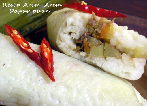 Resep Arem-Arem Dapur Puan.co