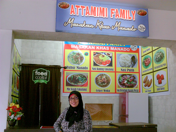 Attamimi Family, Stand Kuliner Khas Manado Di Jambi