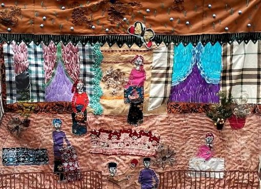 Dina Adelya Pamerkan Textile Art Bertema Jambi di Ajang Internasional