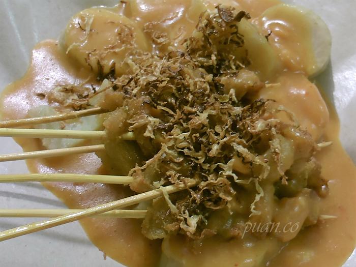 Sate Padang Vegetarian