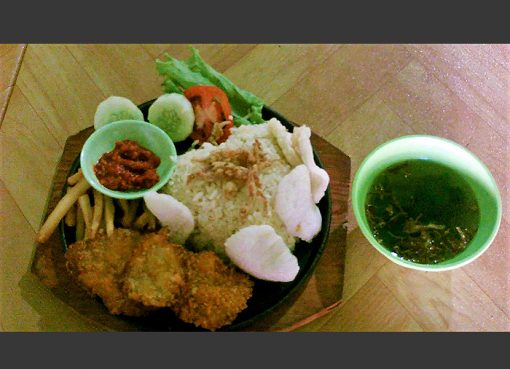 Nasi Jamur Vegetarian