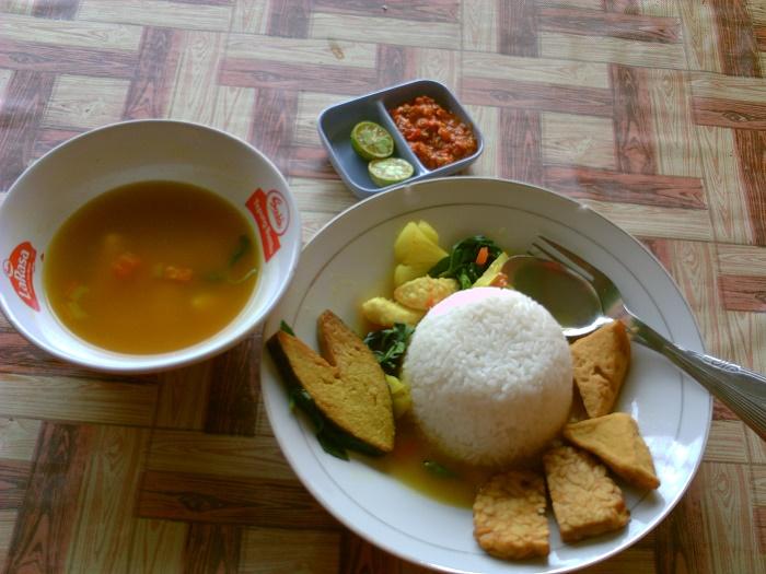 Nasi Pindang Vegetarian