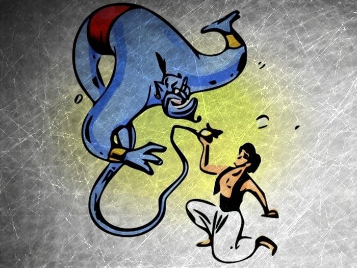 Penulis, Jin, dan Lampu Aladin